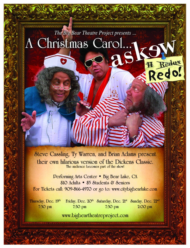 Christmas Carol Askew Redo | Big Bear Theatre Project